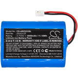 New 3000mAh Battery for Argos Omega Zen pipette controllers; P/N:25303-53