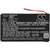 New 1500mAh Battery for Barnes & Noble  BNRV520,GlowLight 3,GlowLight 6 inches; P/N: PR-305084-ST