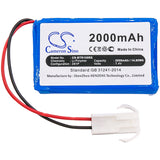New 2000mAh Battery for Brookstone RoverRevolution