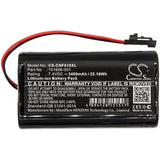 New 3400mAh Battery for ComSonics 101610-DF,QAM Sniffer; P/N:101606-001