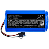 New 2600mAh Battery for CECOTEC CONGA 1090,CONGA 1190,CONGA 950,CONGA 990; P/N:CONG1002