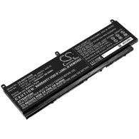 DELL Precision 7550; P/N:68ND3,C903V,CR72X,G5FJ8,J0VNR,PKWVM,PWKVM Battery