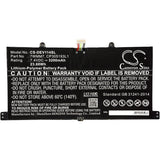 New 3200mAh Battery for DELL CFC6C,D1R74,Venue 11 Pro Keyboard Dock; P/N:7WMM7,CP305193L1,DL011301-PLP22G0