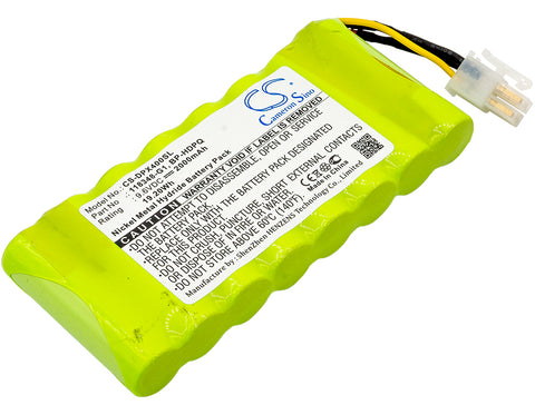 Equipment Battery for Dranetz HDPQ-Guide, HDPQ-Visa, HDPQ-Xplorer, HDPQ-Xplorer400 (2000mAh)
