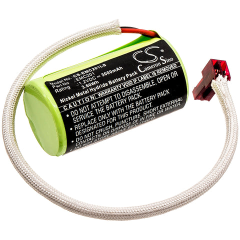 Lithonia 1009S00-MZ,ELB0320,ELB1P201NB,OSA212 Battery