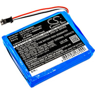 Equipment Battery for Extech MS6000, MS6000 Oscilloscopes, Ms6060, Ms6100, Ms6200 (4500mAh)