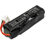 Cameron Sino Replacement Battery for Fukuda Denshi FX-8322 ECG, Denshi FX-8322R, FCP-8321, FCP-8453, FX-8322, FX-8322R (6800mAh)