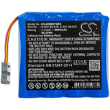 New 6800mAh Battery for Heine mPack,mPack LL; P/N:X-007.99.675,X-007.99.676
