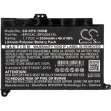 5300mAh Battery for HP Pavilion PC 15, Pavilion PC 15 Touch, Pavilion 15-AU010WM, Pavilion 15-AU018wm