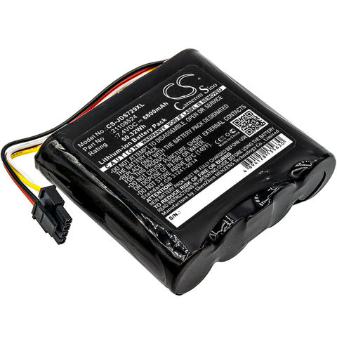 Equipment Battery for JDSU 21100729 000, 21129596 000, WiFi Advisor Wireless LAN Anal (6800mAh)