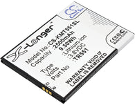 1700mAh / 6.46Wh Replacement battery for KAZAM Trooper 540