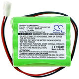 New 2000mAh Battery for ESP Infinite Prime Control Panel; P/N:11AAAH6YMX,GP150AAM6YMX,GP220AAM6YMX,INF-BATPNL,PG800