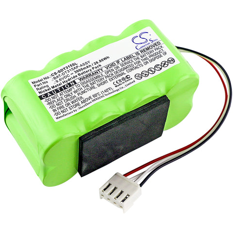 Equipment Battery for Shimpo DT-315A, DT-315A Stroboscope (3000mAh)