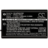 1500mAh Battery for Uniden UH810, UH810S, UH820S