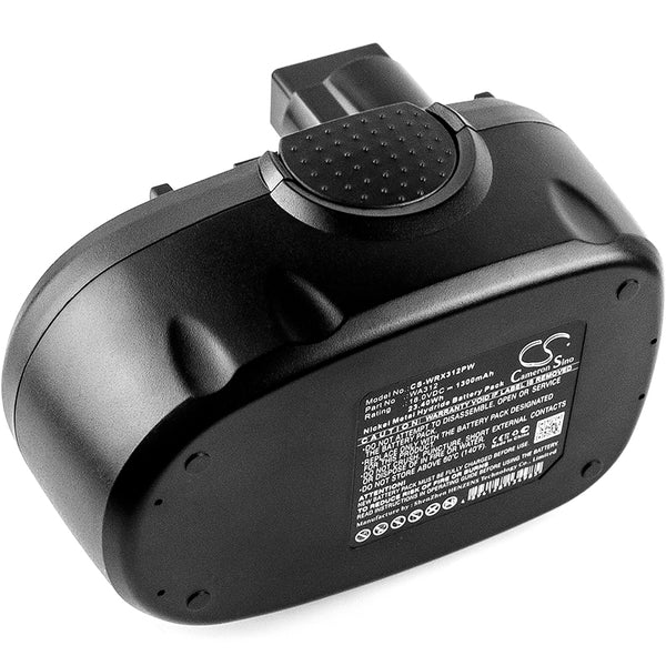 Power Tools Battery for Worx WG150s, WG152, WG250, WG541, WG900, WG901 (1300mAh)