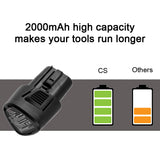 Premium 2000mAh Replacement Battery for Craftsman Nextec, 9-11221, 11221; P/N: 320.11221