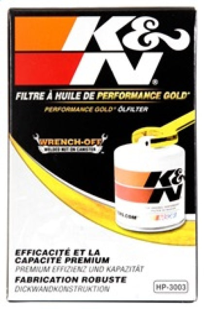 KN Premium Wrench-Off Oil Filter