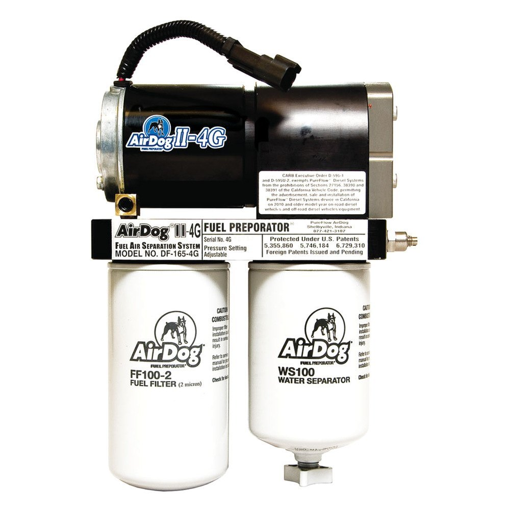 PureFlow AirDog II-4G 1994-1998 Dodge Cummins DF-200-4G Fuel Pump