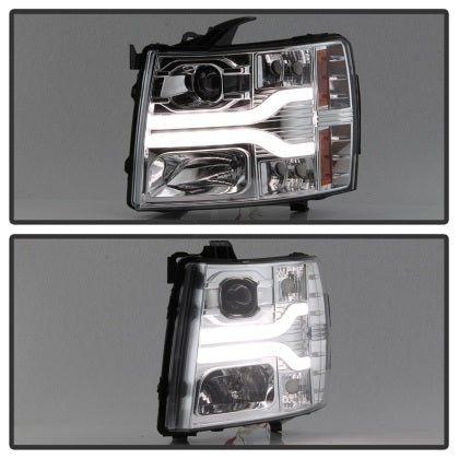 SPY Headlights for Chevy Silverado 1500