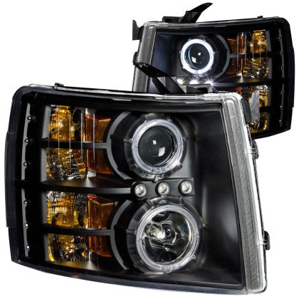 ANZ Projector Headlights for 2007 - 2013 Chevrolet Silverado