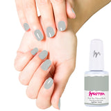 Peel Off Gel Manicure Starter Kit - Flirt with Gray