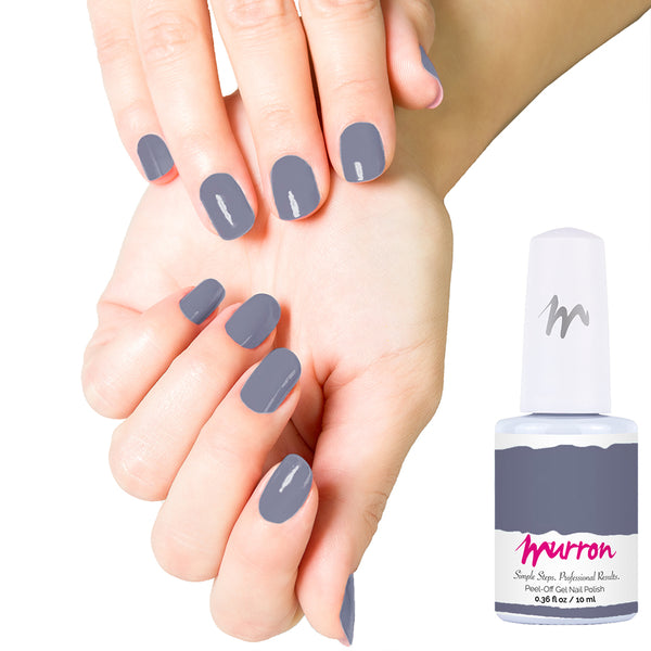 Peel Off Gel Manicure Starter Kit - Smoky Grape