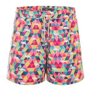 Swim Shorts Fla-Mingle