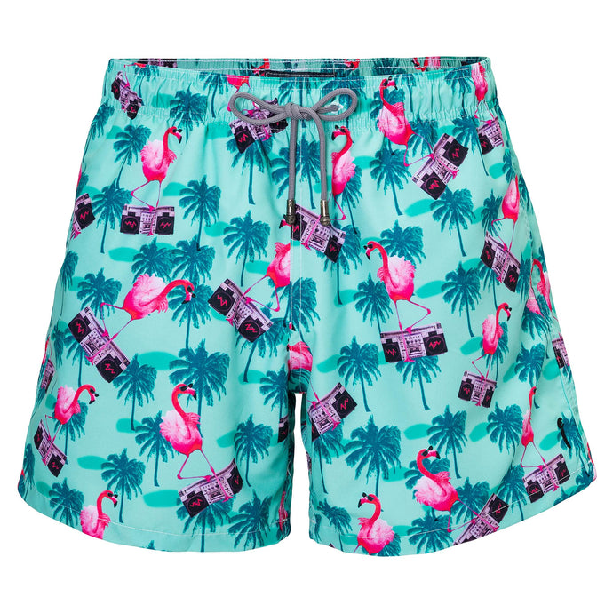 Swim Shorts Flamingo Vice