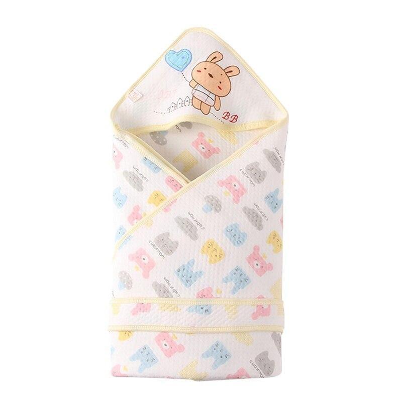 Newborn - 6 mos. Soft Cotton Swaddle Blanket - The Palm Beach Baby