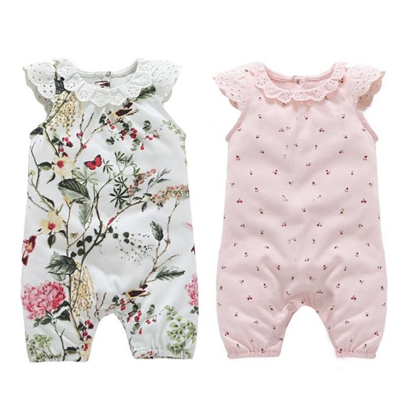 "Baby & Kids Apparel The ""Everly"" One Piece Romper -The Palm Beach Baby"