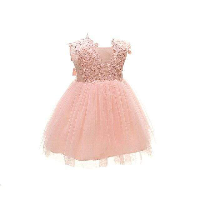 "Baby & Kids Apparel The ""Mia"" Elegant Chiffon Party Dress -The Palm Beach Baby"