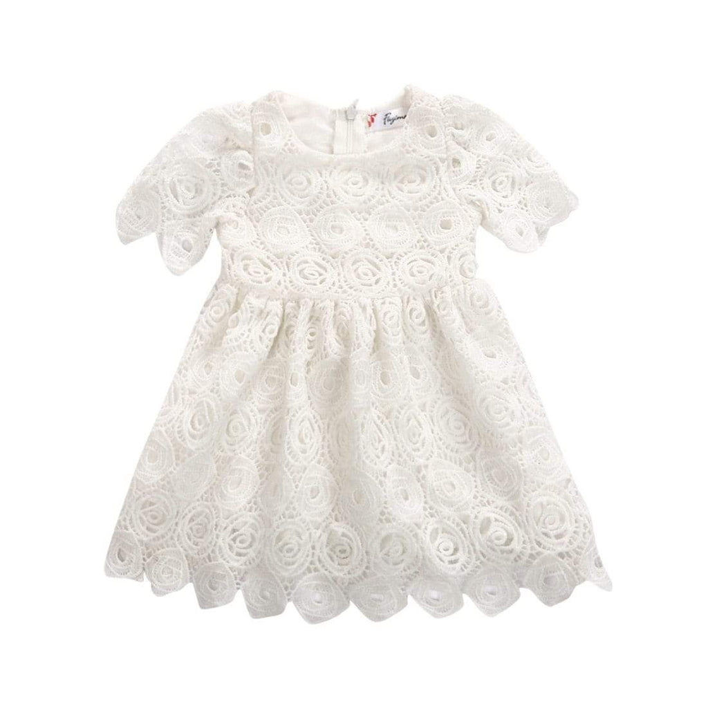 Vintage Lace Baby's Christening Dress - The Palm Beach Baby