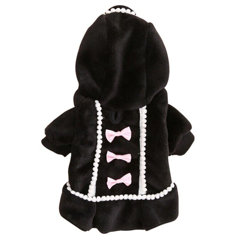 """Pamela Pooch"" Chic Hooded Coat - The Palm Beach Baby"