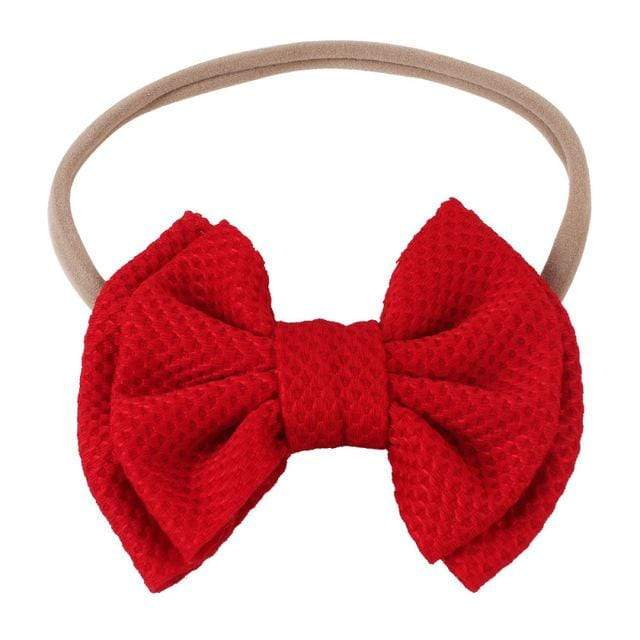 Children's Large Head Bow (8 Colors) - The Palm Beach Baby