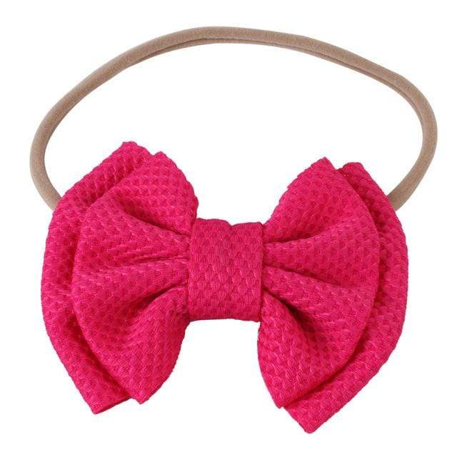 Baby & Kids Accessories 04 / United States Children's Large Head Bow -The Palm Beach Baby