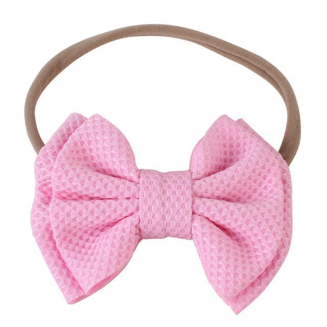 Baby & Kids Accessories 06 / United States Children's Large Head Bow -The Palm Beach Baby
