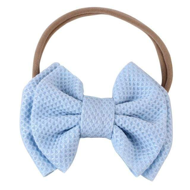 Baby & Kids Accessories 07 / United States Children's Large Head Bow -The Palm Beach Baby