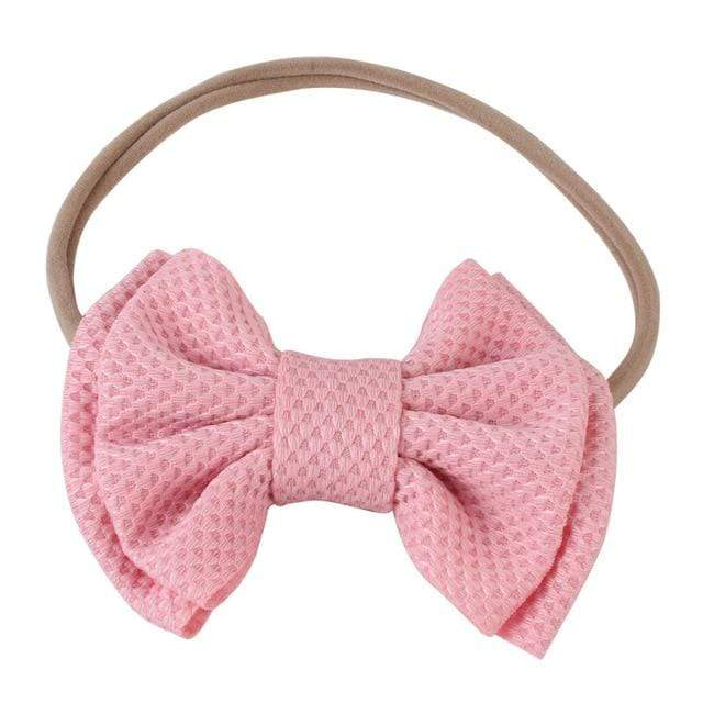 Baby & Kids Accessories 08 / United States Children's Large Head Bow -The Palm Beach Baby