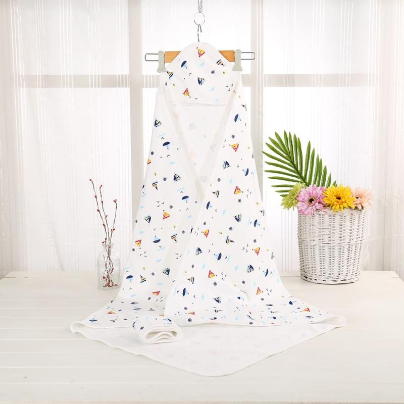 80 CM Or 90 CM Baby's Hooded Bath Towel - The Palm Beach Baby