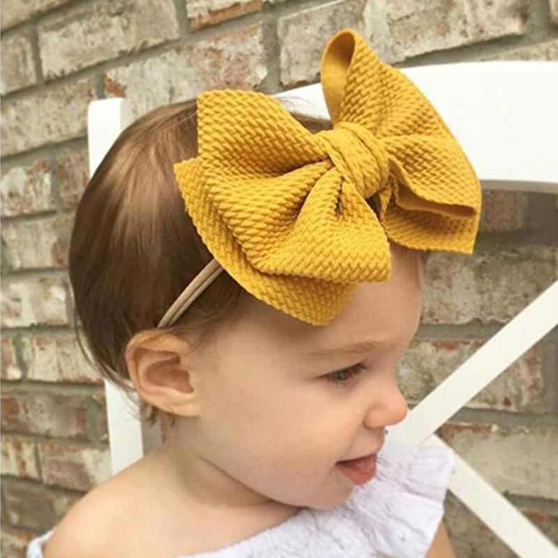 Baby & Kids Accessories Children's Large Head Bow -The Palm Beach Baby