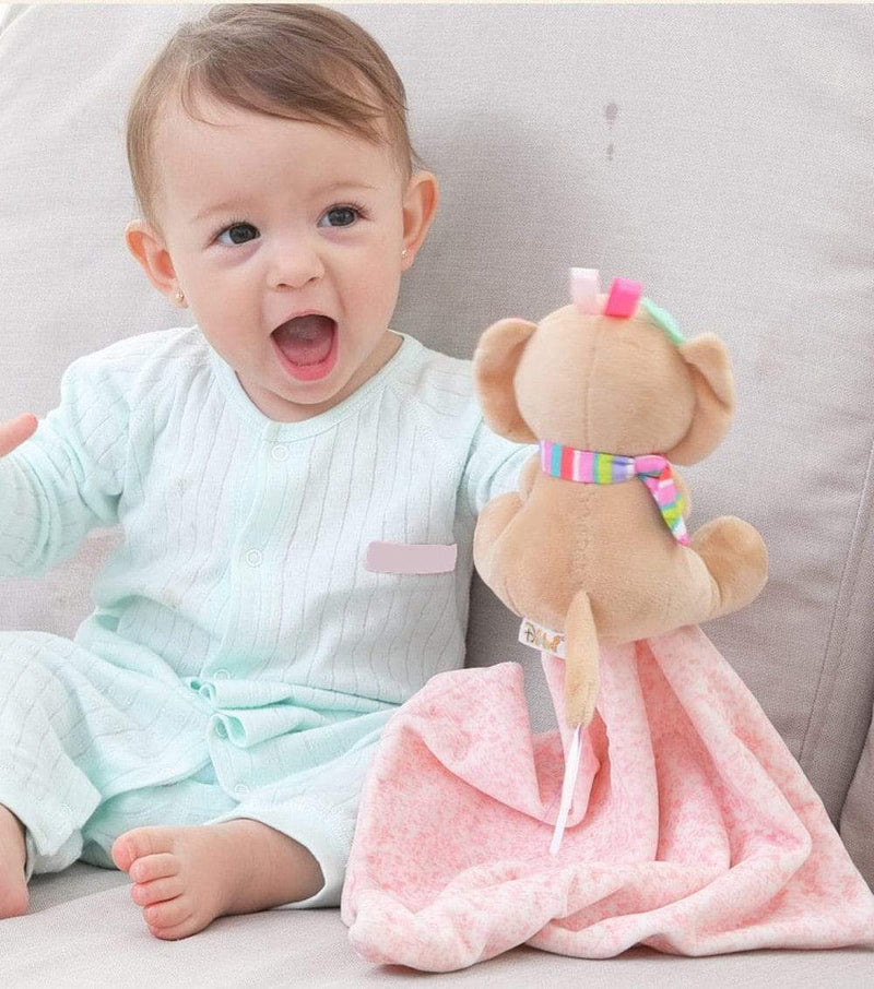 Soft Baby Animal Plush Toy + Towel - The Palm Beach Baby
