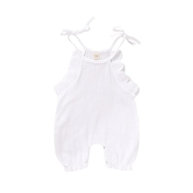 """Baby Reese"" Romper Jumpsuit - The Palm Beach Baby"