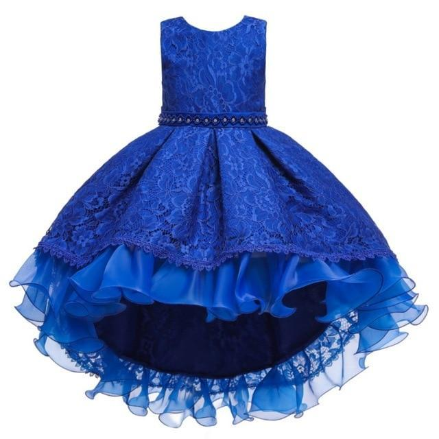 "Baby & Kids Apparel A1 / 150 / United States The ""Martina"" Elegant High-Low Dress -The Palm Beach Baby"
