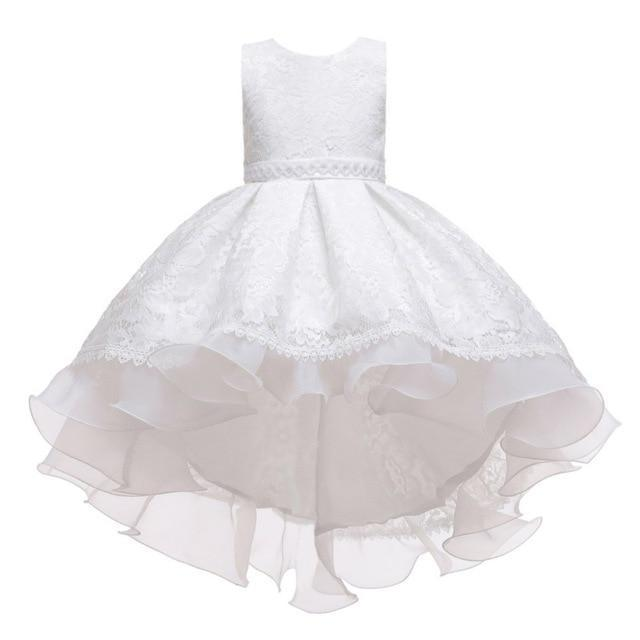 "Baby & Kids Apparel A5 / 130 / United States The ""Martina"" Elegant High-Low Dress -The Palm Beach Baby"