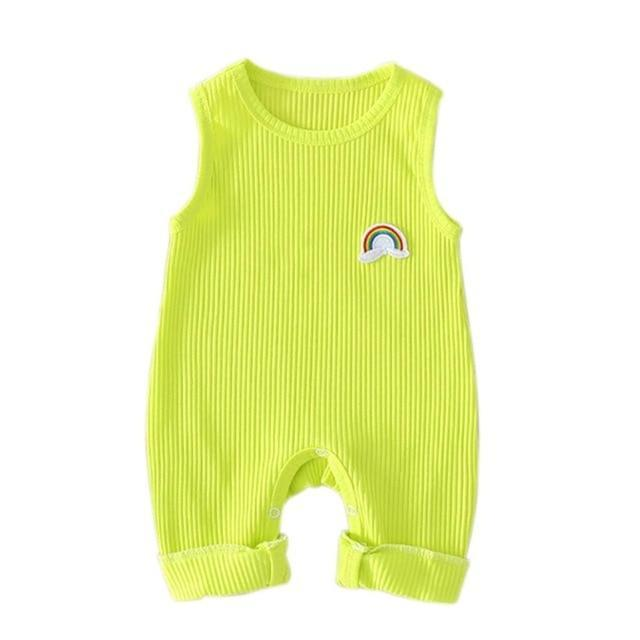 "Baby & Kids Apparel B / 18M / United States ""Brody"" Sleeveless Jumpsuit/ Romper -The Palm Beach Baby"