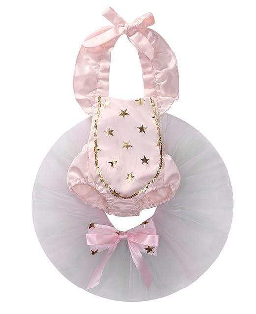"The ""Mariangel"" 2 PC Tutu Set (2 Styles) - The Palm Beach Baby"