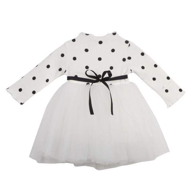 "Baby & Kids Apparel B / 4T / United States ""Amy-Louise"" Polka Dot Tutu Dress -The Palm Beach Baby"