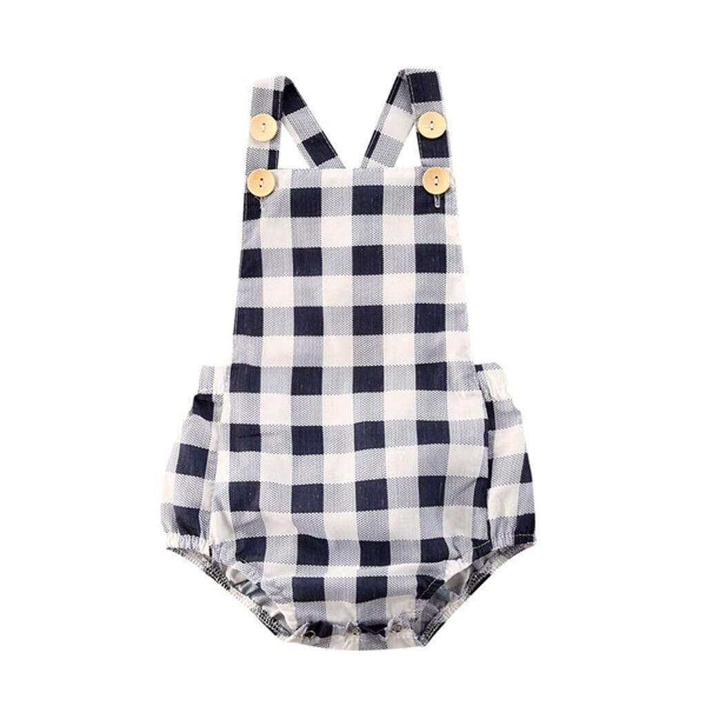 Babies Modern Geometric Print Romper - The Palm Beach Baby