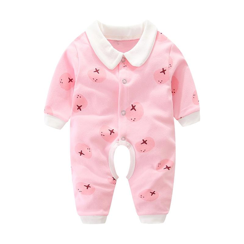 Baby's Long-Sleeved Adorable Printed Romper - The Palm Beach Baby