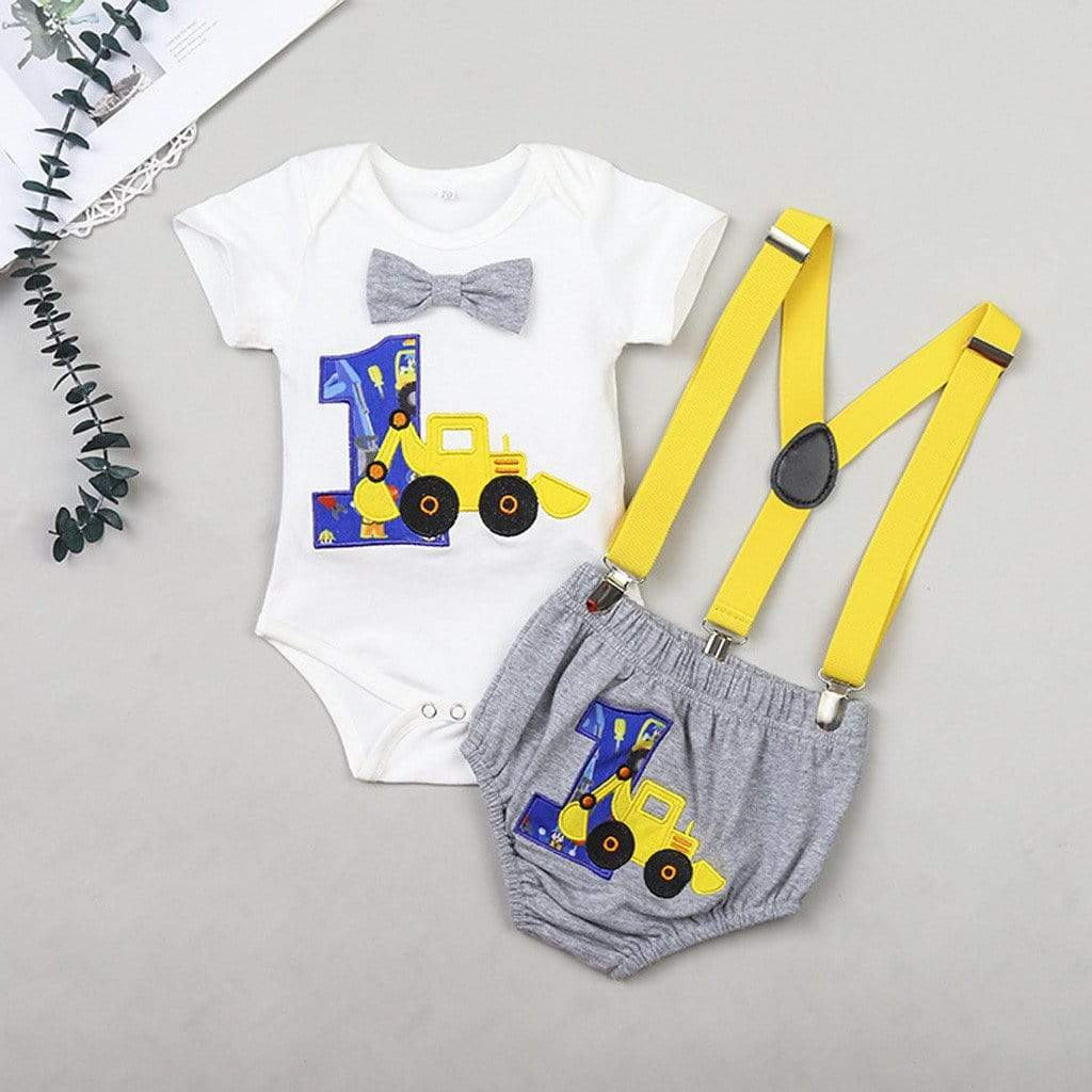 """Birthday Boy"" First Birthday Outfit - The Palm Beach Baby"